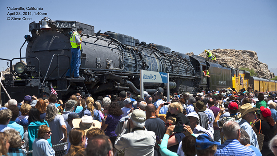 The 4014 in Victorville, California in April 2014