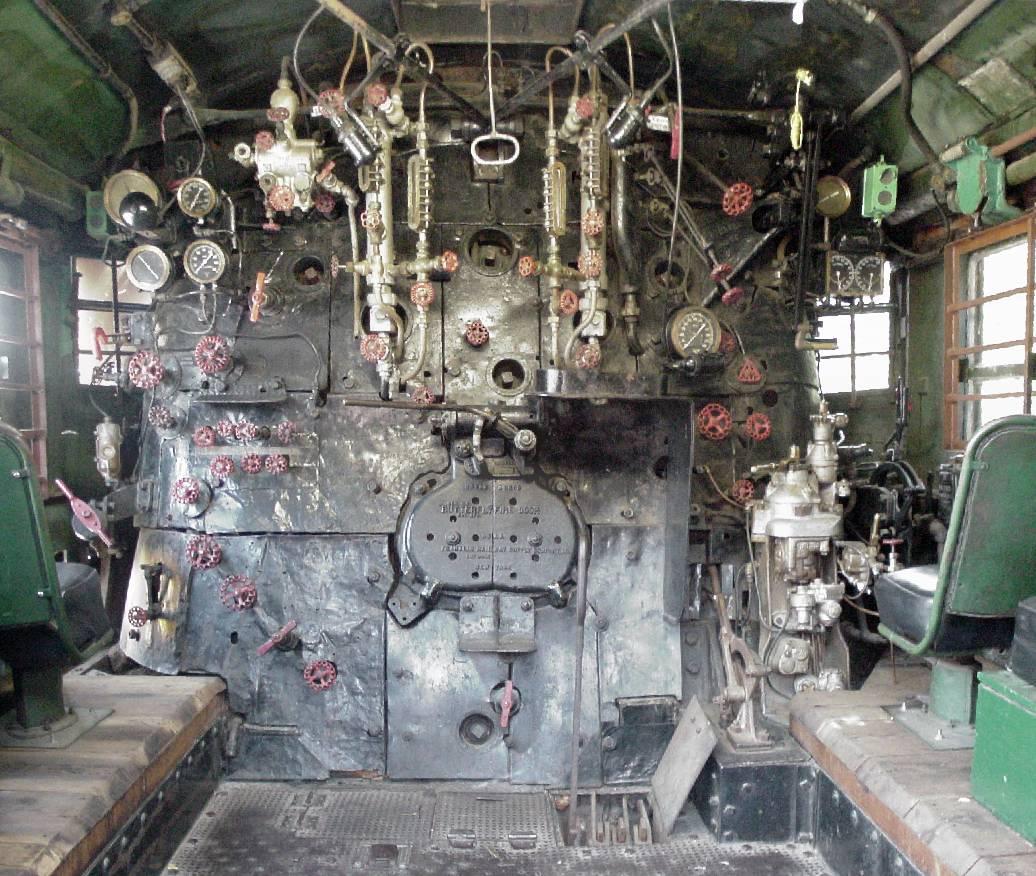 Engine Burning Oil >> RailGiants Train Museum | Union Pacific Big Boy #4014 Back Head